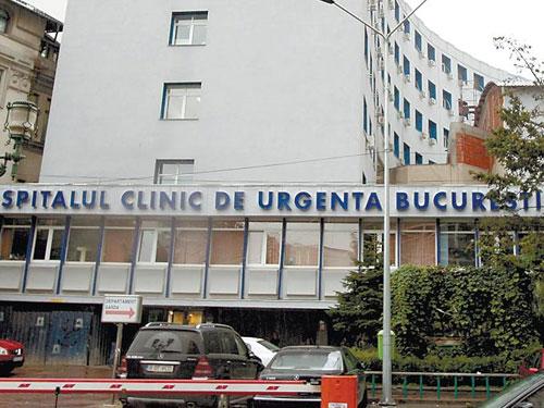 Foto: spitalul de urgenta Floreasca Bucuresti