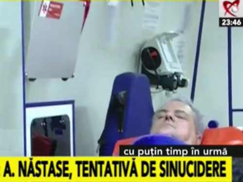 Foto: sinucidere - Adrian Nastase (c) Realitatea TV