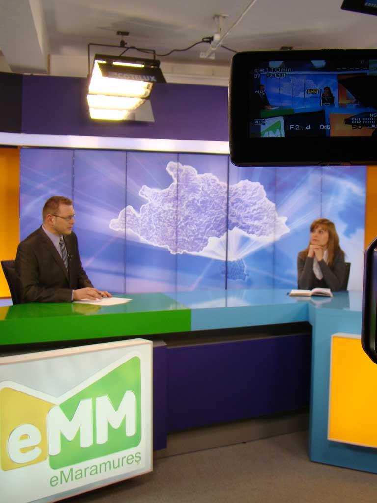 Foto emisiune Dezbaterea zilei - televiziunea eMaramures