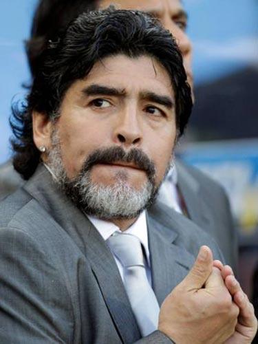 Foto: Diego Maradona (c) worldofootball.wordpress.com